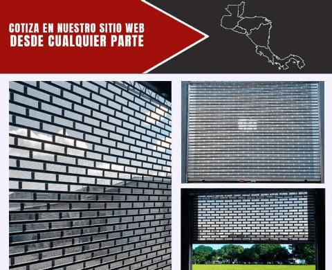 Diseño Microperforada Brick